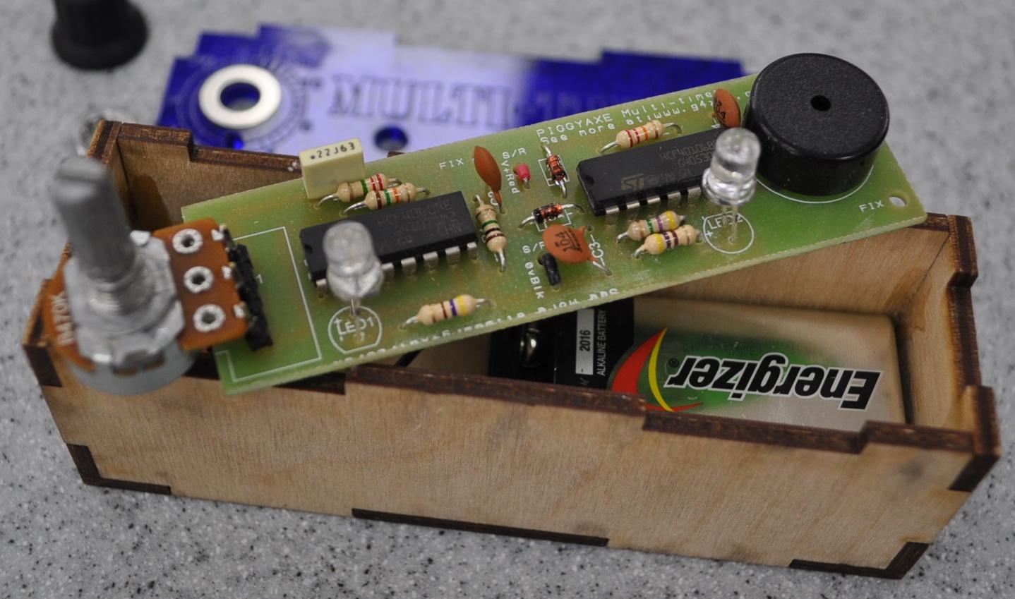 Basic Electronics G4xat Electronix The Alternating Led Flasher Circuit With A 555 Ic Pocket Timer 2